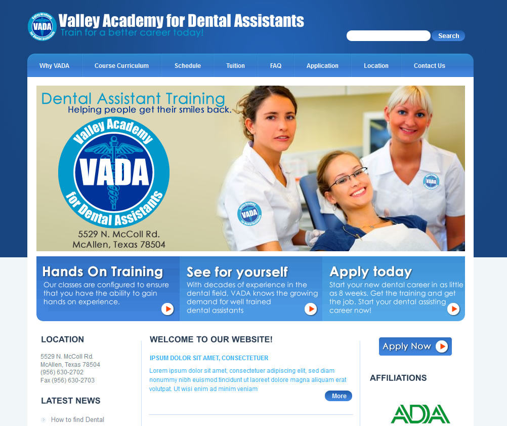 Valley Academy for Dental Assistants