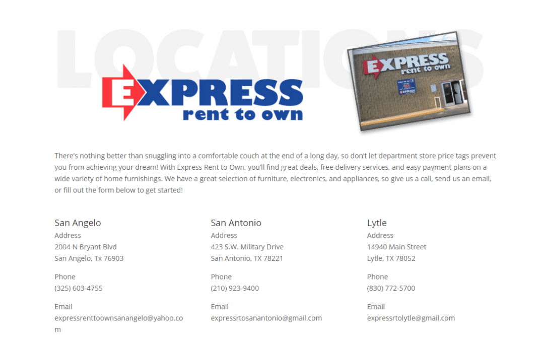 Express Rent to Own